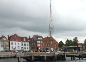 Hafen Glückstadt ... noch is ruhig.
